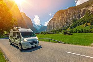 Séjour montagne - EVAGO Location camping car