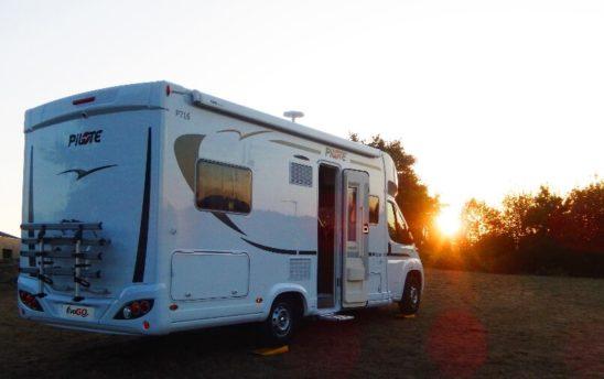Extérieur porte vélo camping car Pilote PROFILÉS 5 places - EVAGO