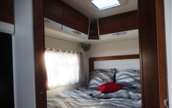 Lit camping car Pilote PROFILÉS 5 places - EVAGO